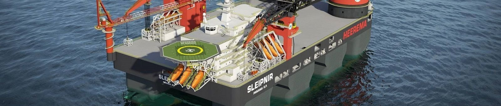 Heinen & Hopman Singapore to supply HVAC for the world's largest semi-submersible crane vessel