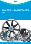 Axial fans - HUA and VLA fans