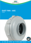 Duct Fan - AXC