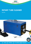 Rotary tube cleaner