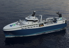 Pelagic Trawler for Arctic Storm