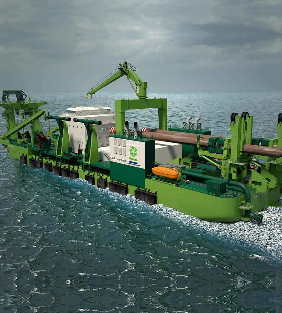 Dredger heating systems