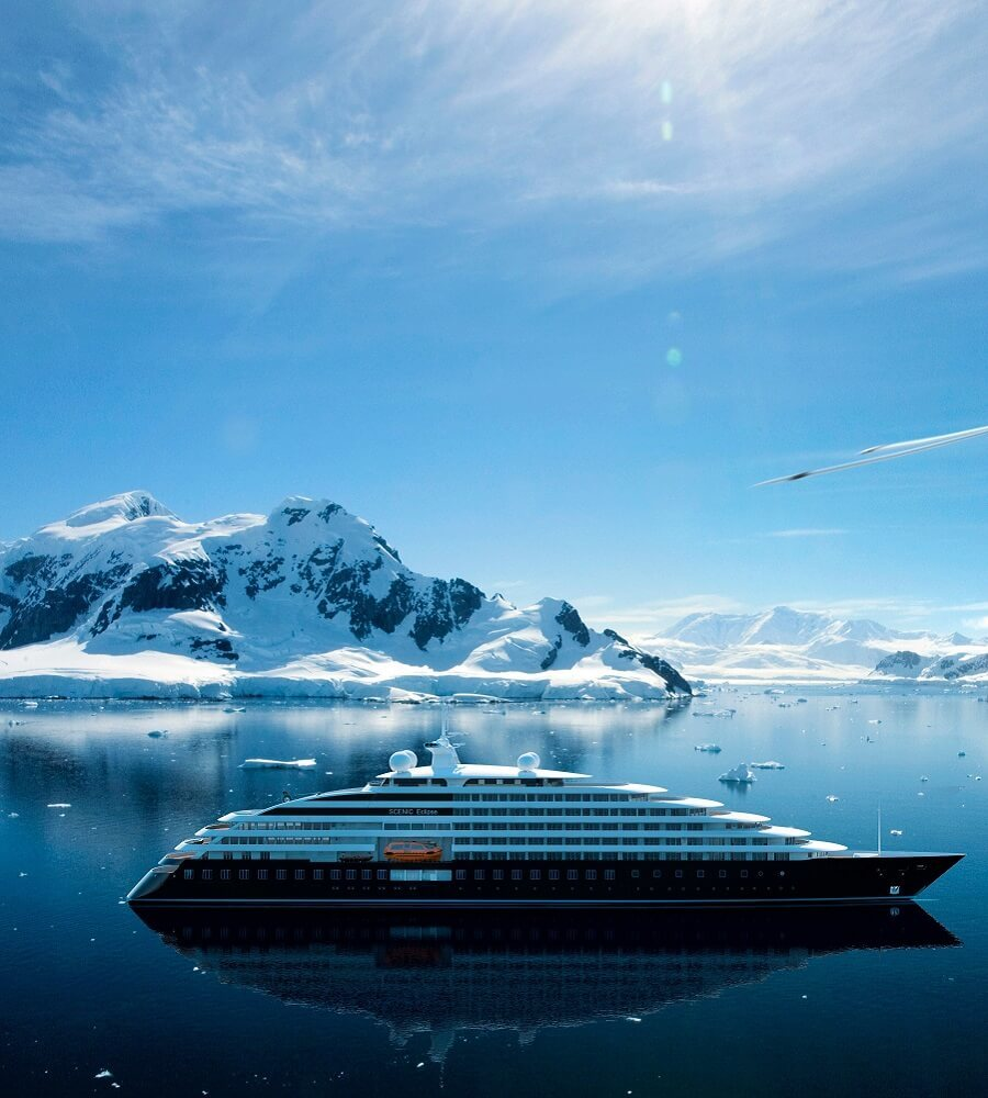 Expedition cruise ship refrigeration