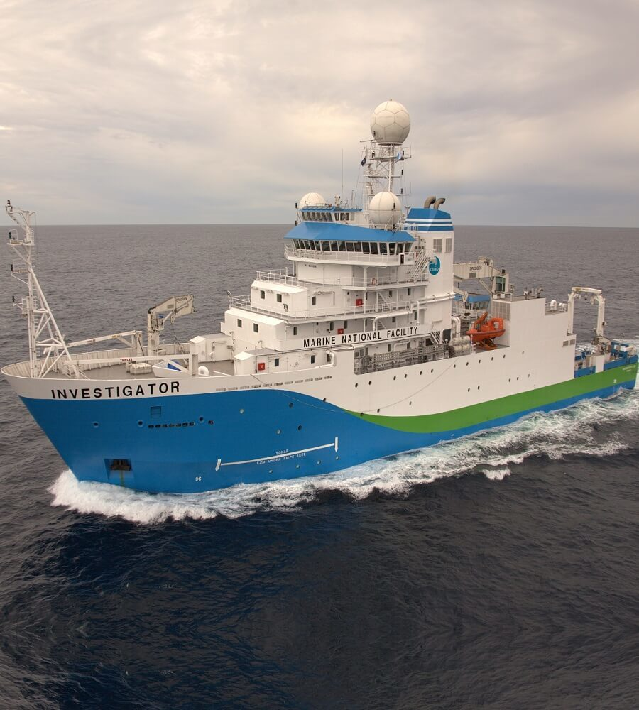 Research vessel refrigeration