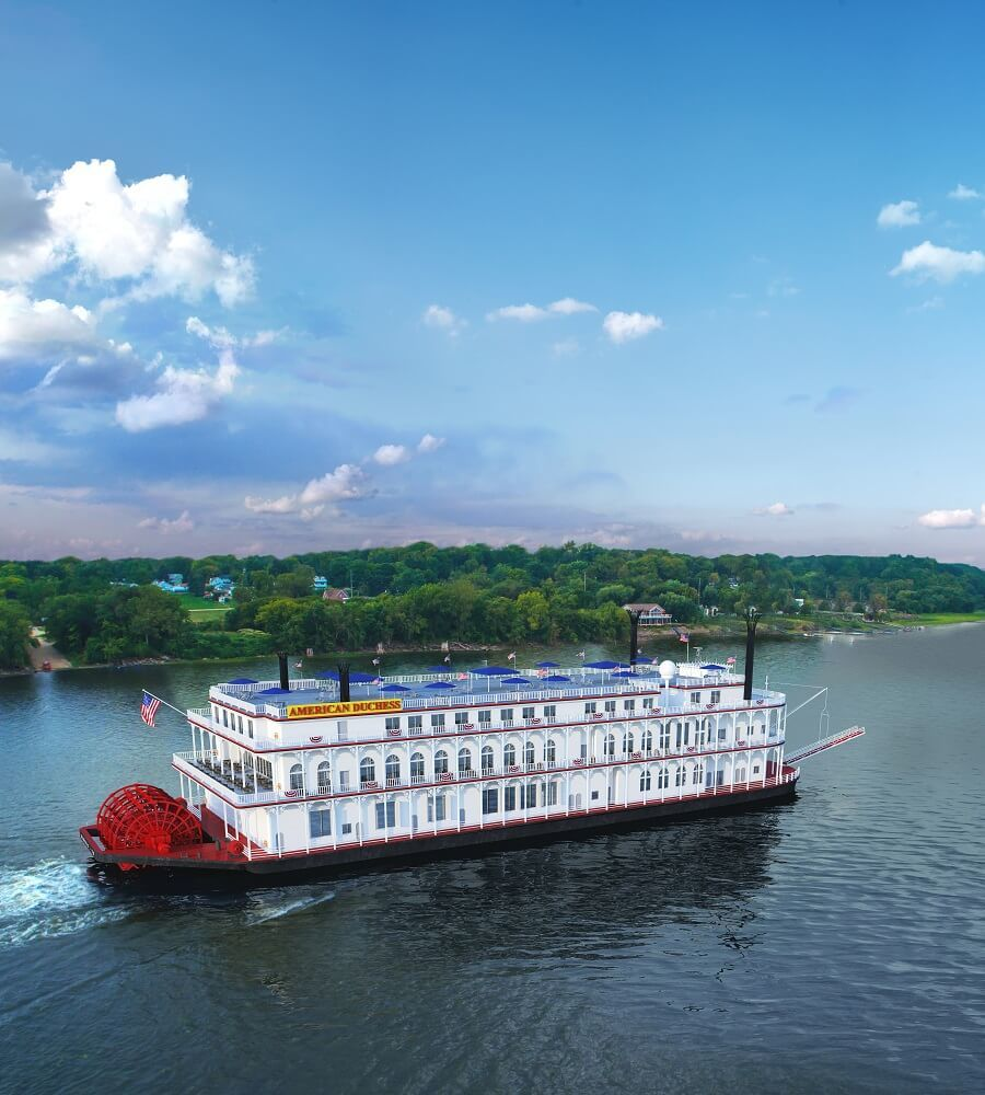River cruise ship heating systems